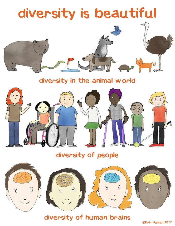 diversity is beautiful