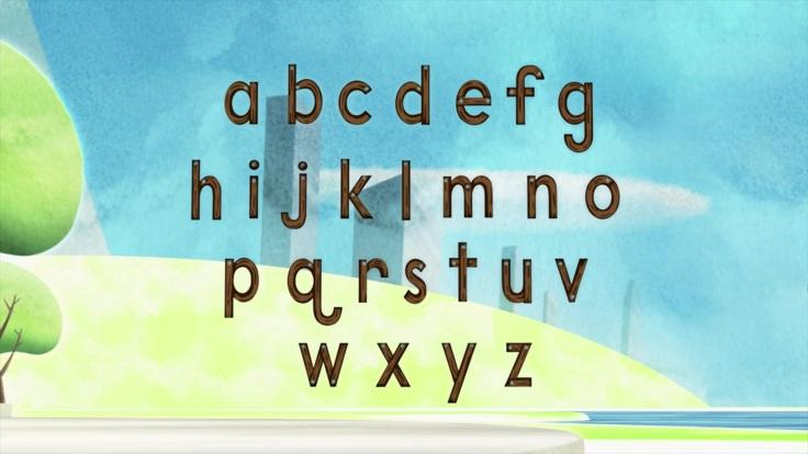 12 alphabet letters